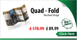 Quad-Fold Brochure Design