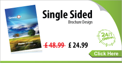 Click here to Single Sided Brochure Design